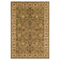 Rugs America New Vision Tabriz 7'10 x 7'10 Area Rug in Green
