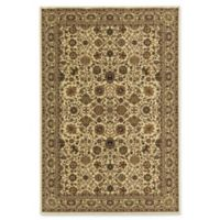 Rugs America New Vision Tabriz 7'10 x 7'10 Area Rug in Beige