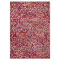 KAS Dreamweaver Delaney 5'3 x 7'7 Area Rug in Pink