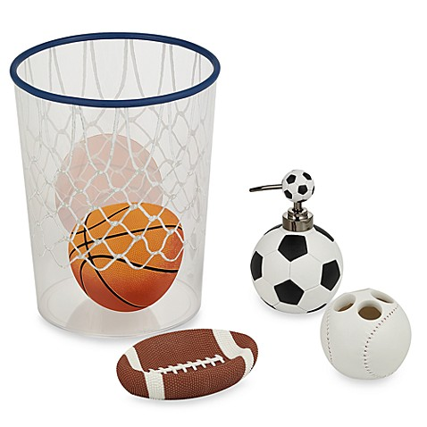 All sports bath ensemble bed bath beyond for All bathroom accessories