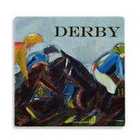 Thirstystone® Dolomite Derby Single Round Coaster