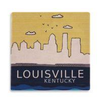 Thirstystone® Dolomite LouisvIlle Single Round Coaster