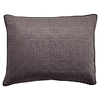 Croscill® Crestwood Standard Pillow Sham in Grey