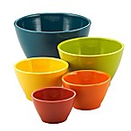 Rachael Ray™ Melamine 5-Piece Multicolor Nesting Measuring Cup Set