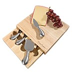 Classic Cuisine 5-Piece Wood Cheese Board Set