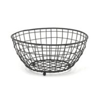 Spectrum™ Grid Fruit Bowl in Black