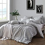 Swift Home Prewashed Yarn-Dyed Cotton King Duvet Cover Set in Pale Blue