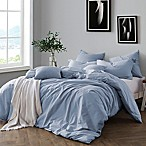 Swift Home Prewashed Yarn-Dyed Cotton Full/Queen Duvet Cover Set in Chambray