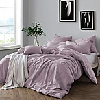 Swift Home Prewashed Yarn-Dyed Cotton King Duvet Cover Set in Lavender