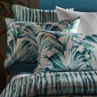Frette At Home Versilia European Pillow Sham in Teal
