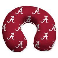 University of Alabama U-Neck Memory Foam Travel Pillow with Snap Closure