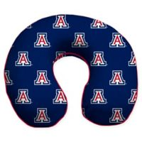 University of Arizona U-Neck Memory Foam Travel Pillow with Snap Closure