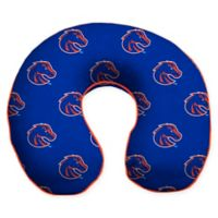 Boise State University U-Neck Memory Foam Travel Pillow with Snap Closure