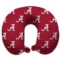 University of Alabama U-Neck Travel Pillow with Snap Closure