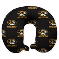 University of Missouri U-Neck Travel Pillow with Snap Closure