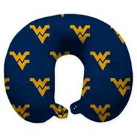 West Virginia University U-Neck Travel Pillow with Snap Closure