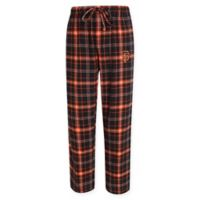 MLB San Francisco Giants Men's Medium Flannel Plaid Pajama Pant with Left Leg Team