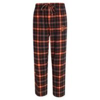 MLB San Francisco Giants Men's Large Flannel Plaid Pajama Pant with Left Leg Team