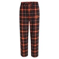 MLB San Francisco Giants Men's 2XL Flannel Plaid Pajama Pant with Left Leg Team