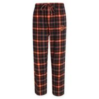 MLB San Francisco Giants Men's Small Flannel Plaid Pajama Pant with Left Leg Team