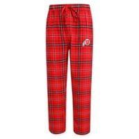 University of Utah Men's Small Flannel Plaid Pajama Pant with Left Leg Team Logo