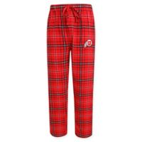 University of Utah Men's Large Flannel Plaid Pajama Pant with Left Leg Team Logo