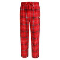 University of Louisville Men's Large Flannel Plaid Pajama Pant with Left Leg Team Logo