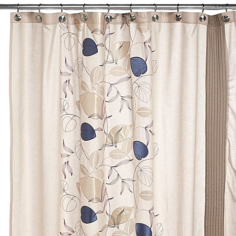 Serena Fabric Shower Curtain By Croscill Bed Bath Beyond