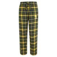 Baylor University Men's Medium Flannel Plaid Pajama Pant with Left Leg Team Logo