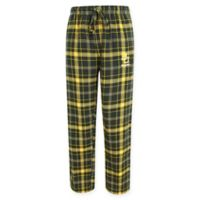 Baylor University Men's Large Flannel Plaid Pajama Pant with Left Leg Team Logo