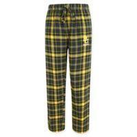 Baylor University Men's X-Large Flannel Plaid Pajama Pant with Left Leg Team Logo