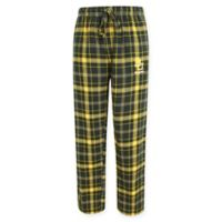 Baylor University Men's 2XL Flannel Plaid Pajama Pant with Left Leg Team Logo