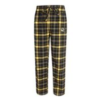 University of Missouri Men's X-Large Flannel Plaid Pajama Pant with Left Leg Team Logo