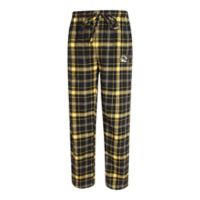 University of Missouri 2XL Men's Flannel Plaid Pajama Pant with Left Leg Team Logo