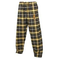 Arizona State University Men's X-Large Flannel Plaid Pajama Pant with Left Leg Team Logo