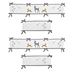 Sweet Jojo Designs Forest Deer 4-Piece Crib Bumper Set