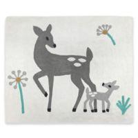 Sweet Jojo Designs Forest Deer Floor Rug