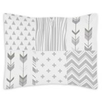 Sweet Jojo Designs Woodsy Reversible Standard Pillow Sham