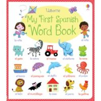"""""""My First Spanish Word Book"""" by Felicity Brooks"""