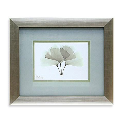 X Ray Green Floral Wall Art Ii Bed Bath Beyond