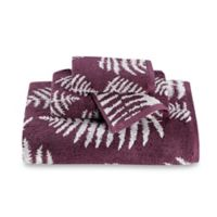 Sanderson Fern Jacquard Hand Towel in Fig
