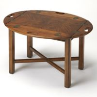 Butler Specialty Company Carlisle Versatile Accent Table with Vintage Oak Finish