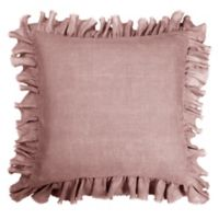 Wamsutta® Vintage Gauze Ruffle European Pillow Sham in Mauve