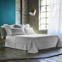 Frette At Home Malachite King Coverlet in White