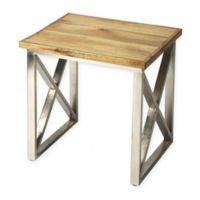 Butler Specialty Company Laudan Iron and Wood Accent Table