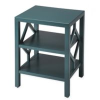 Butler Specialty Company Halcyon End Table in Teal