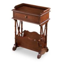 Butler Specialty Company Cummings Martini Table in Dark Brown