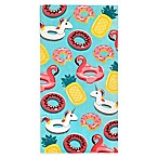 Global Summer Pool Fun Beach Towel