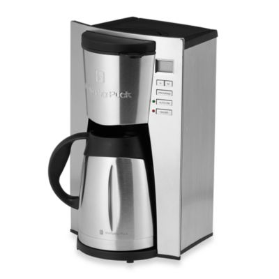 Bed Bath And Beyond Thermal Coffee Maker : Wolfgang Puck WPTPCM010 12-Cup Programmable Thermal Coffee Maker - Bed Bath & Beyond