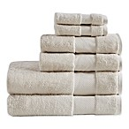 Madison Park Signature Turkish Cotton Bath Towels in Natural (Set of 6)